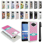For Samsung Galaxy J3 J310 J320 / Sky S320 Studded Bling HYBRID Case Cover + Pen