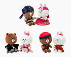 """LINE FRIENDS BROWN & CONY Character Global Costume Limited Edition Plush Toy 10"""""""