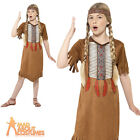 Child Native Indian Girls Costume Squaw Pocahontas Fancy Dress Outfit New