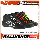 Alpinestars SHOES TECH 1-K Start Karting Black White Red Yellow  Go Kart Race
