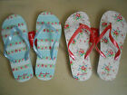 Truly Gorgeous GreenGate Flip Flops in Agnes Red or April Mint 36-41