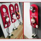 XMAS Santa Claus Snowman Reindeer Christmas Door Hanging Home Decorations LA
