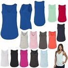 LADIES LIGHTWEIGHT, V-NECK TANK TOP, LAYERABLE, CASUAL, EASY FIT, S M L XL 2X