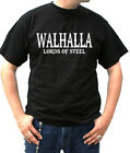 W037 T- Shirt Loki Freya Wikinger Odin Thor Metal Walhalla Lords of steel S-6XL