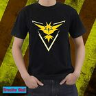 Pokemon Go Team Instinct Tshirts Tee Shirt FREE SHIPPING