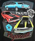 Plymouth Duster T-shirts - 70 to 76 - 100% Cotton Pre-shrunk