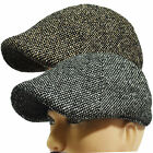 New Mens Thick Twill Wool Blend Newsboy DuckBill Driving Ivy Golf Casual Cap Hat