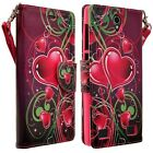 For Samsung Galaxy J7 (2016) Phone Case Hybrid Leather Wallet Pouch Flip Cover