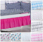 BABY COT VALANCE SHEET WITH FRILLS FIT to COT 120x60 cm / Matching Bedding