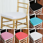 50 pcs POLYESTER CUSHIONS for CHIAVARI CHAIR Wedding Ceremony Decorations SALE