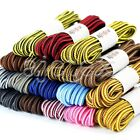 1pcs Round Coloured Stripe Shoe Lace Bootlace Shoelaces Replacement 120*0.4cm