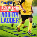 Yes4All Speed Agility Ladder for Workouts - Multi Choice: 8, 12, 20 Rung