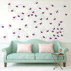 Butterfly Moths Brightly Coloured Wall Car Window Stickers Decor Packs Decals A3