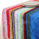 """1/5/10/20 PCS 12""""x108"""" Pintuck Table Runner for Wedding Party Home Decoration AU"""