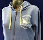 Ladies Sea Shepherd Zip Hoodies, 3 colours  Black, Mid Heather Blue, Burgundy