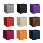 1,4,6 Storage Box Cube Unit Organizer Fabric Bin Shelf Basket Drawer Container