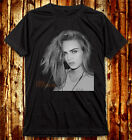 Cara Delevingne Sexy Face Cara Jocelyn Delevingne fashion model Dark T-Shirt