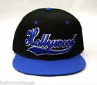 Embroidery Hollywood Cap - Black- 4475