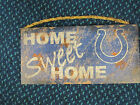 NFL Real Tree Home Sweet Home Wooden Sign 6 X 12 New