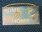 NFL Real Tree Home Sweet Home Wooden Sign 6 X 12 New on eBay