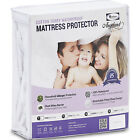 Deep Pocket Mattress Protector Waterproof Hypoallergenic Breathable Cool Cover