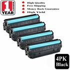 Black CF283A 83A Toner Cartridges For HP LaserJet Pro MFP M127fw M127fn M125nw