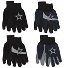 NFL Dallas Cowboys No Slip Gripper Utility Work Gardening Gloves NEW! on eBay