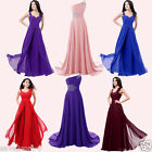 New Elegant Chiffon Long Bridesmaid Dresses Wedding Evening Party Cocktail Dress