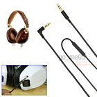 Replacement audio cable with mic remote line for Crusher / aviator headphones