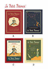 Undated Diary Scheduler Planner Journal - Le Petit Prince Vintage Galore Diary