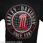 Harley Davidson Number 1 T-Shirt, no back print, genuine Australian seller