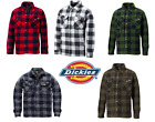 Dickies Mens Portland Padded Check Lumberjack Work Shirt Jacket SH5000 Small-3XL