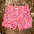 NEW Mens 83990 Tenue De Plage Pink Printed Jeff Swim Shorts GENUINE RRP £110