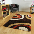Cheap Modern Non Shed Warm Soft Quality Terracotta Brown Beige Shaggy Area Rugs
