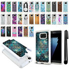 For Samsung Galaxy Note7 Note 7 N930 Studded Bling HYBRID Case Phone Cover + Pen