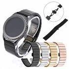 Stainless Steel Watch Band Strap Metal Clasp For Samsung 42mm Gear S2 Classic image