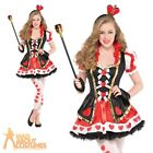 Teen Queen of Hearts Costume Alice Tea Party Book Week Day Fancy Dress Outfit