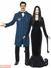 Mens Ladies Gomez Morticia Costume Halloween Fancy Dress Addams Family Adams