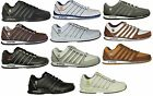 K SWISS BNWT TRAINERS RINZLER LACE UP  IN WHITE BLACK GREY CLEARANCE PRICE !