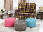 Deluxe Faux Leather Moroccan Bean Bags/Pouffes Top Quality !