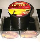 ASSO ULTRA CAST Fluorocarbon Coated Fishing Line - 4oz Spool - BLACK - All B/S