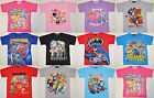 Boy Girl Paw patrol Batman Zootopia shopkins Spiderman Minnie T-Shirts size 1-12