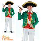 Adult Mariachi Costume Mexican Singer Band Mens Fancy Dress Outfit New