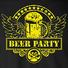 BEER PARTY funny T-Shirt college party drinking draft