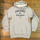 Crooks & Castles Cocaine & Caviar Hoodie In Grey Sizes L