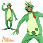 Frog Costume Prince Charming Adult Fancy Dress Funny Toad  Mens Ladies Outfit