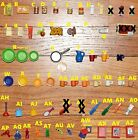 CHOOSE Playmobil FOOD dollhouse miniature cans plates cups bathroom accessories