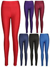 Womens New Wet Shiny Look American Disco Pants Ladies Stretch Trousers Leggings