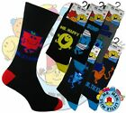 3 Mens MR MEN Cartoon Novelty 100% OFFICIAL Character Socks UK 6-11