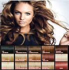 "16"" Human Hair Full Head Clip-In Hair Extensions All Colours"